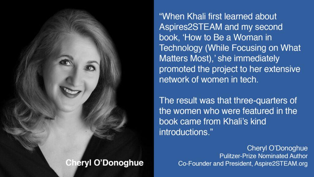 Cheryl O'Donoghue on BuzzTheory's Khali Henderson